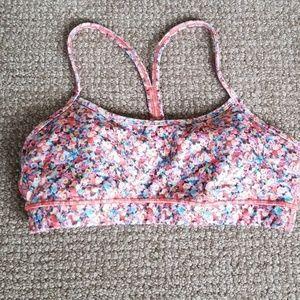 Lululemon Flow Y sports bra size 10